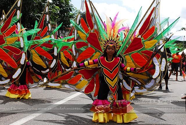 BdC 31/42 NCC Kiddies Carnival Parade in Port-of-Spain