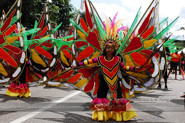BdC 31/42 NCC Kiddies Carnival Parade in Port-of-Spain
